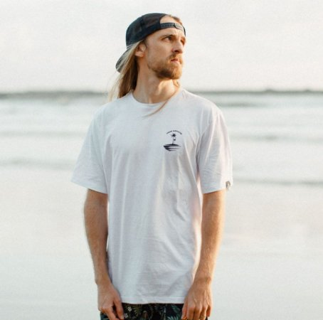 Camiseta Hawewe Surf Culture Ilha Branca