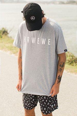 Camiseta Hawewe Surf Mescla Masculina