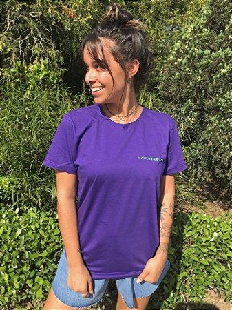 Camiseta Hawewe Roxa Surf & Co