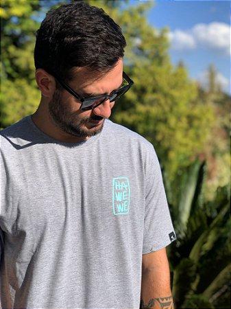 Camiseta Hawewe Masculina Sea Leaf Mescla