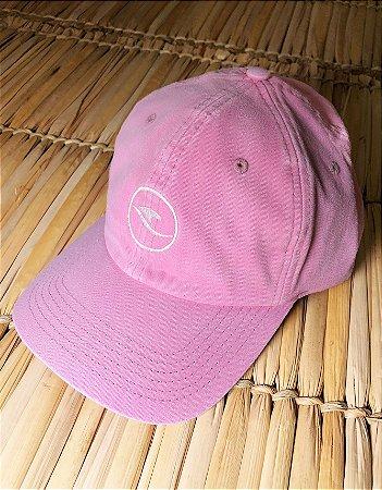 Boné Hawewe Dad Hat Logo Rosa Estonado