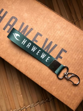 Chaveiro Cordão Hawewe Verde