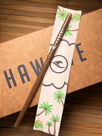 Canudo Hawewe Fibra de Coco Reutilizável