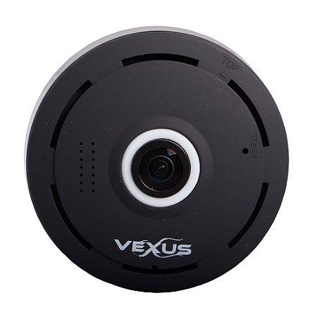 Câmera Ip 360 graus Preta Vexus VX-3601