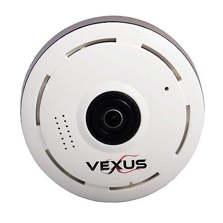 Câmera Ip 360 graus Branca Vexus VX-3601