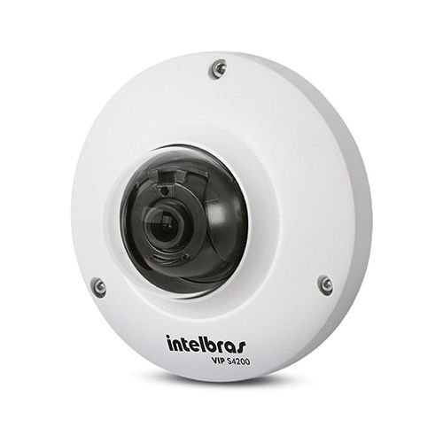 Câmera Ip Fisheye Intelbras Lente 1,18mm 4 Megas Vip E6400