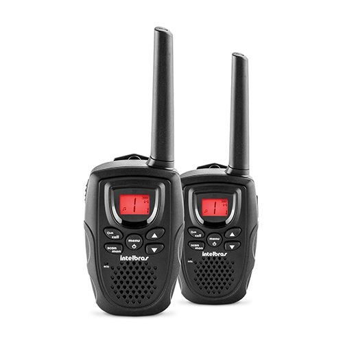 Radio Comunicador Intelbras 20 Km Unitário Rc 5002 Usb