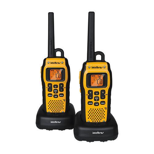 Rádio de Comunicação Intelbras Twin Waterproof Preto