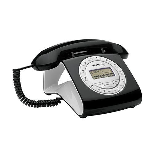 Telefone com Fio Intelbras Retrô TC8312