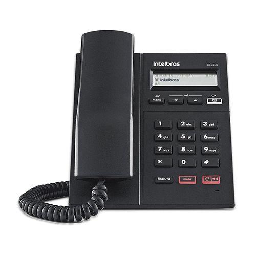 Telefone Intelbras Com Fio Ip Tip 125 Lite