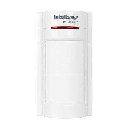 Sensor Infravermelho Passivo Com Fio Intelbras IVP 3000 PET