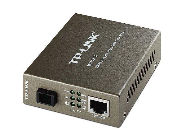 Conversor de Mídia WDM de 10 100Mbps MC112CS