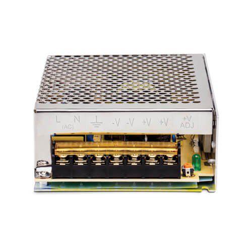 Fonte de Alimentação Metálica Tipo Colméia Intelbras EFM 1210 Bivolt 12V 10A