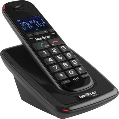Telefone Sem Fio Intelbras TS63V