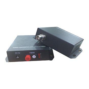 CONVERSOR DE FIBRA ÓPTICA VEXUS VXF-980 PARA VÍDEO BNC HD 1080P 20KM