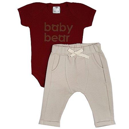 Conjunto Bebê Baby Bear