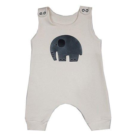 Macacão Bebê Elefante