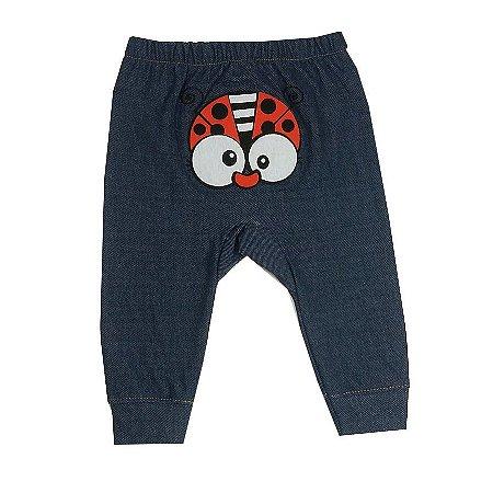 Calça Bebê Joaninha Jeans