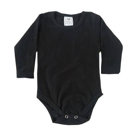 Body Bebê Preto