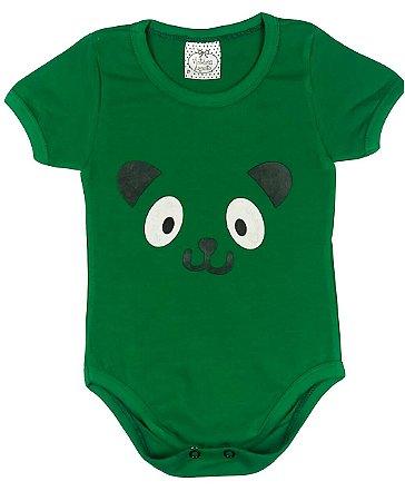Body Bebê em Cotton Verde