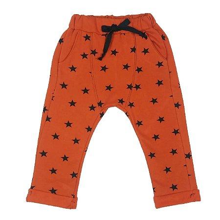 Calça Infantil Saruel Estampada Estrela