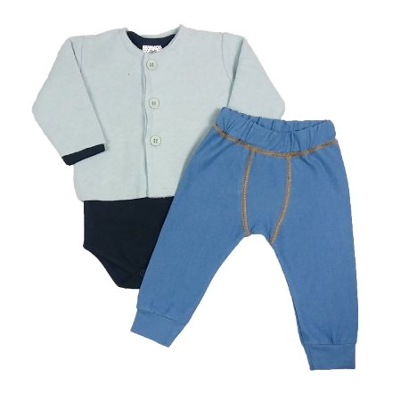 Conjunto Bebê 3 Peças Blue