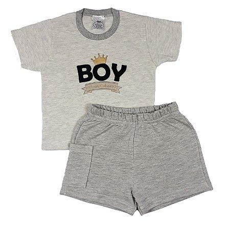 Conjunto Infantil Boy + Shorts