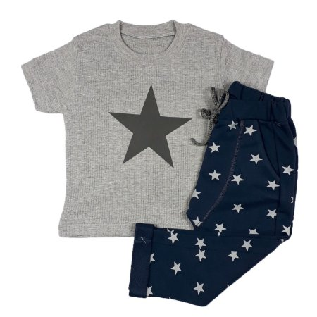 Conjunto Infantil Estrelas