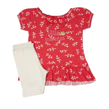 Conjunto Infantil Little Princess Floral