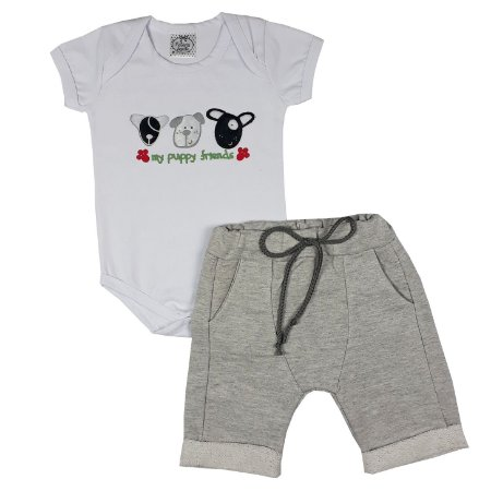 Conjunto Bebê My Puppy Friends