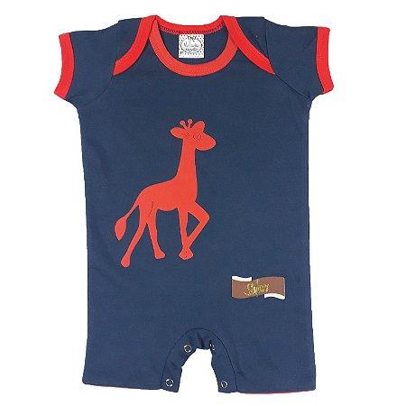 Macacão Bebê Girafa