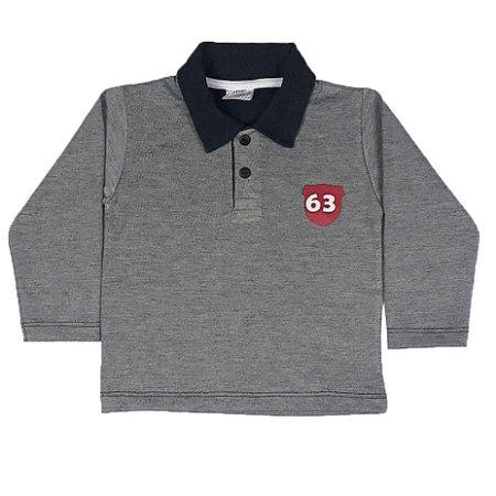 Camisa Infantil Gola Polo 63