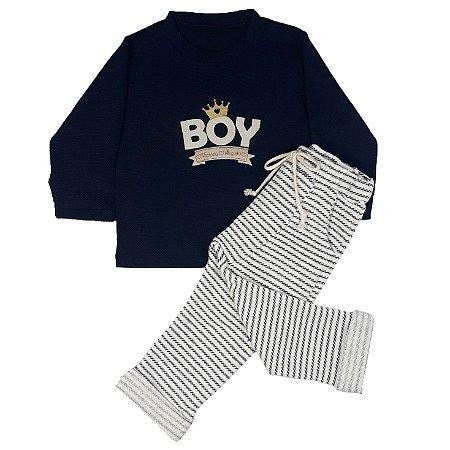 Conjunto Infantil Boy + Calça Saruel