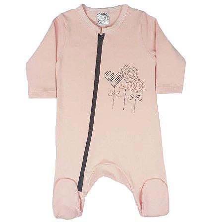 Macacão Bebê Pirulitada