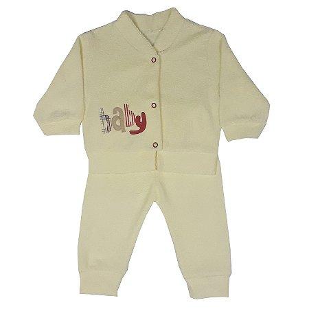 Conjunto Bebê Baby Amarelo