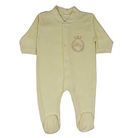 Macacão Bebê Amarelo