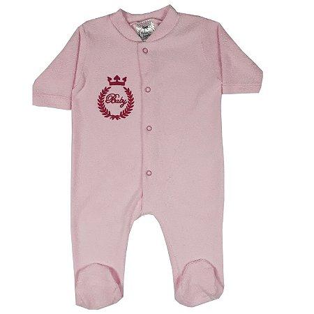 Macacão Bebê Rosa
