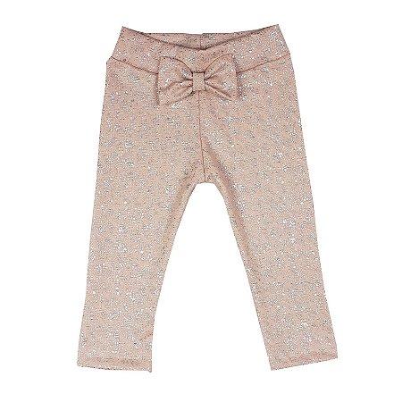 Calça Infantil Legging Rosa