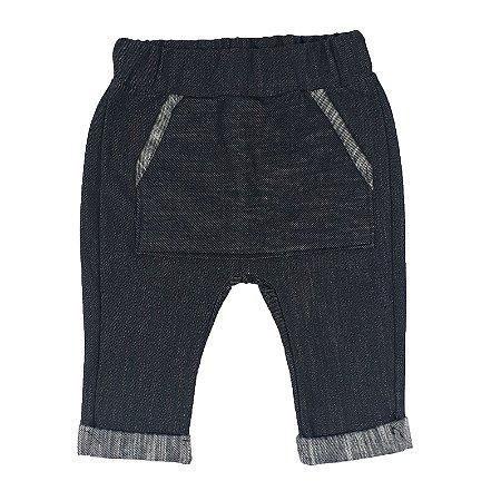 Calça Bebê Saruel Jeans Escura