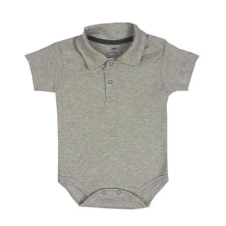 Body Bebê Polo Mescla