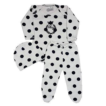 Conjunto Bebê 3 Peças Bola