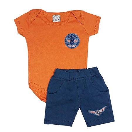 Conjunto Bebê Força Aérea