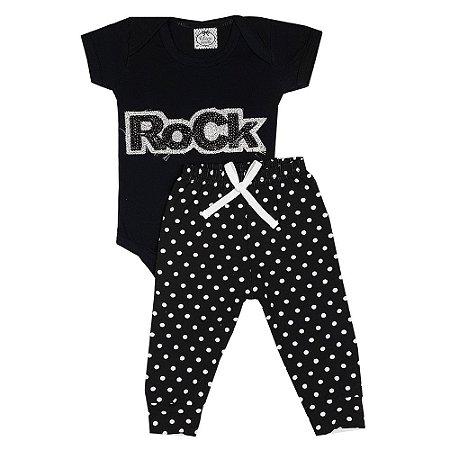 Conjunto Bebê Rock Baby