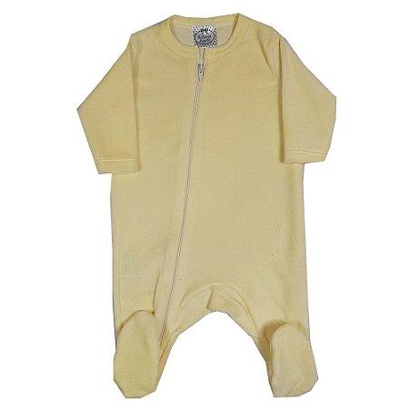 Macacão Bebê Plush Amarelo