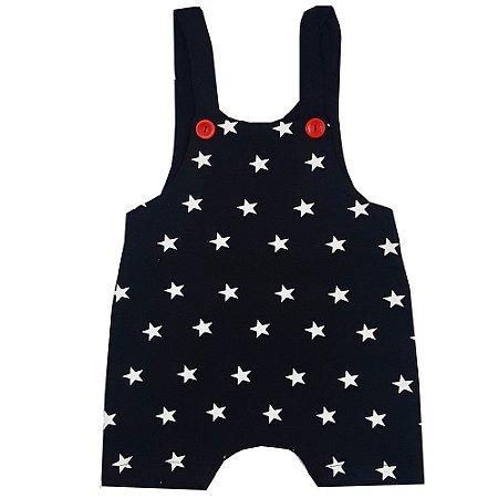 Jardineira Bebê Estrelas