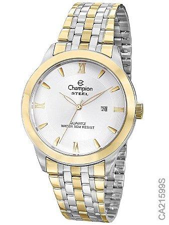 22711ff9dd6 Relógio Champion Steel com Função Calendário - CA21599S