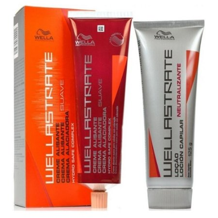 KIT WELLASTRATE CREME ALISANTE SUAVE + NEUTRALIZANTE