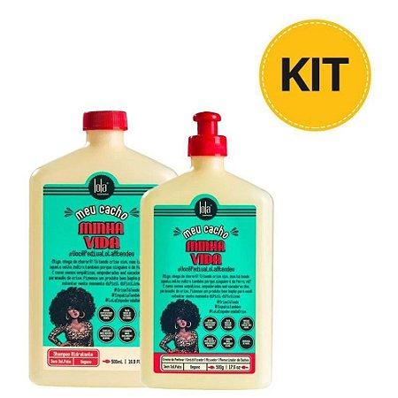 Kit Shampoo + Creme Para Pentear Lola Meu Cacho Minha Vida