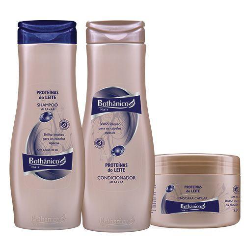 Kit Bothanico Hair Proteínas do Leite (3 produtos)