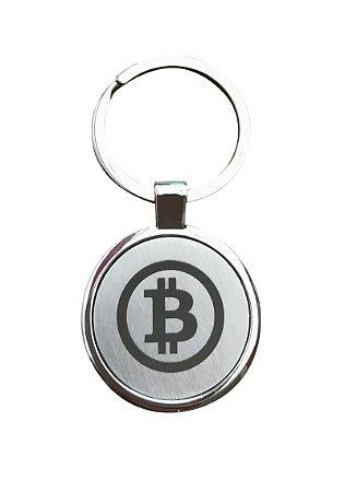 Chaveiro Bitcoin Minimalista
